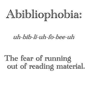 Book Meme Abibliophobia