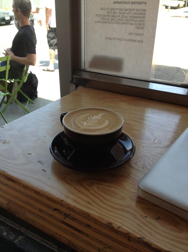 Cafe de Leche Foam Art