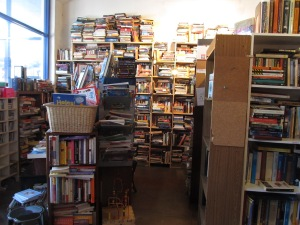 And there's a cute used bookstore across the street!