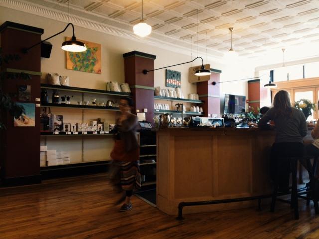 Dwelltime Coffee Interior